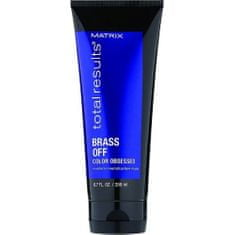 Matrix Maska pro neutralizaci žlutých tónů blond vlasů Total Results (Brass Off Color Obsessed) 200 ml