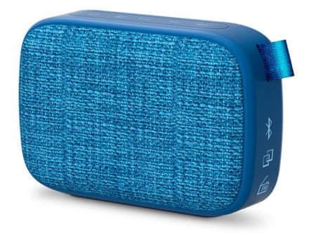 Energy Sistem Fabric Box 1+ Pocket, modrá
