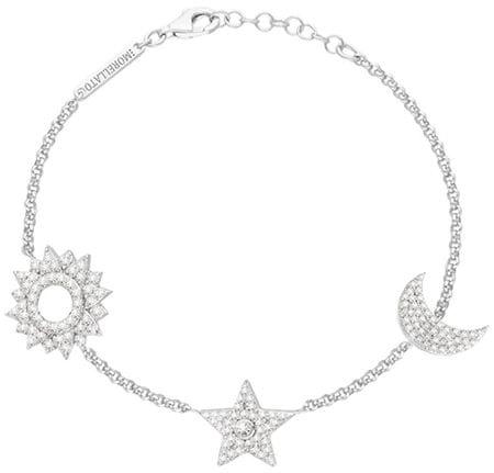 Morellato Luxusní stříbrný náramek Michelle SAHP04 stříbro 925/1000