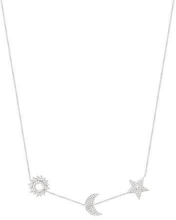 Morellato Luxusní stříbrný náhrdelník Michelle SAHP01 stříbro 925/1000