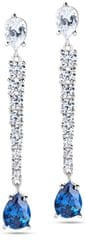 Morellato Luxusní třpytivé náušnice Tesori SAIW16 stříbro 925/1000
