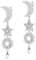 Morellato Luxusní stříbrné náušnice Michelle SAHP05 stříbro 925/1000