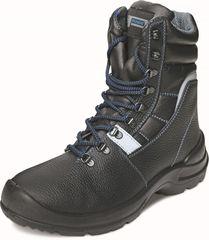 Panda Safety Zimní pracovní poloholeňová obuv Tigrotto O2 CI SRC černá 44