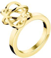 Calvin Klein Oryginalny pozłacany pierścień Pokaż KJ4XJR1002