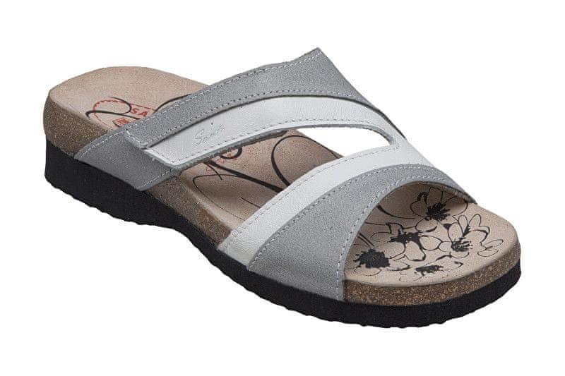 bbdc57bb1de SANTÉ Zdravotní obuv dámská N 520 7 19 10 šedá (Velikost