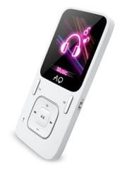 AQ odtwarzacz MP3 MP02 biały