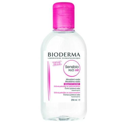 Bioderma Čisticí a odličovací micelární voda na citlivou pleť Sensibio AR H2O (Objem 250 ml+250 ml)