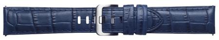 Samsung kožni remen Galaxy Watch 46 mm, Alligator Navy