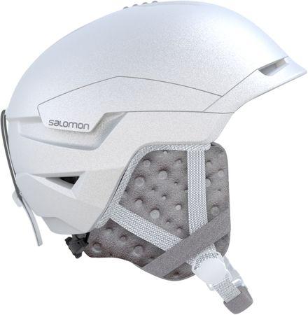 Salomon moška smučarska čelada Quest Access White, bela, M, 56 - 59 cm