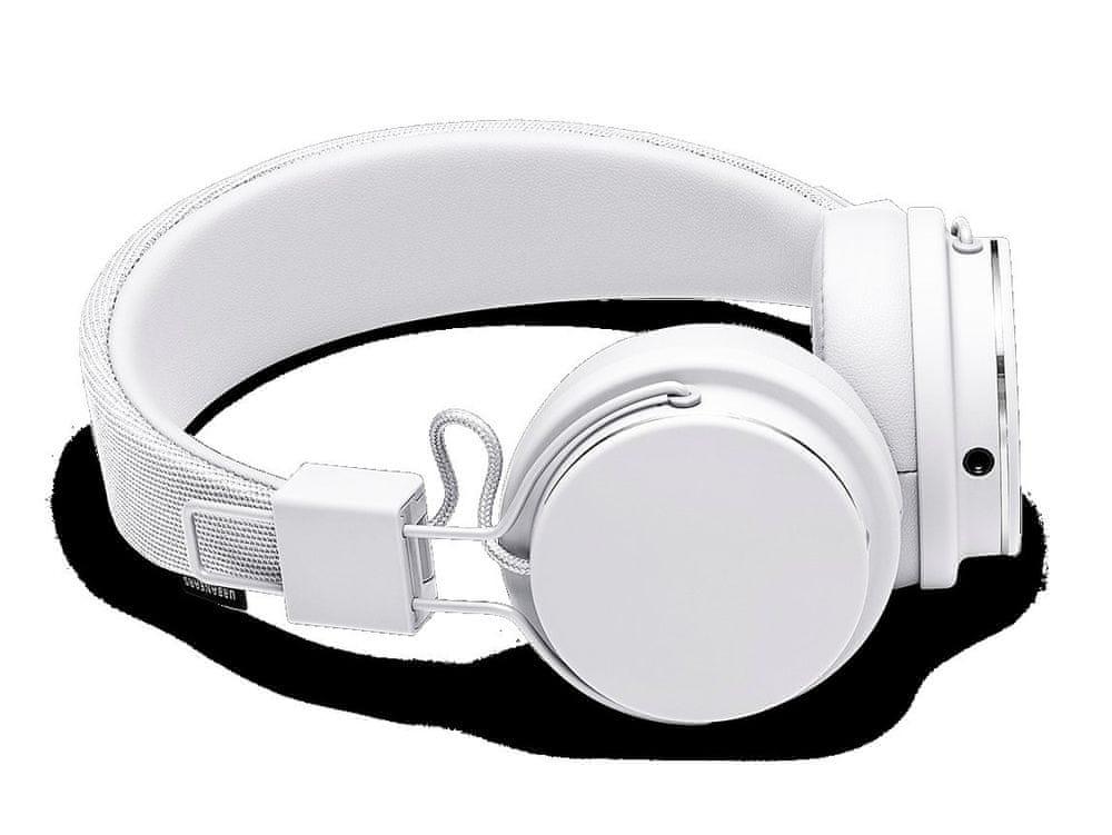 Urbanears Plattan II sluchátka s mikrofonem, bílá