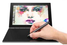 Lenovo tablični računalnik Yoga Book x5-Z8550/4GB/64GB/10,1FHD/W10P, črn (ZA150074HR)