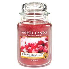 Yankee Candle Classic velký - Brusinky na ledu, 623 g