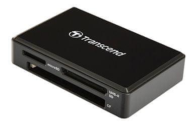 Transcend čitalec kartic RDF9 USB 3.1/3.0, črn