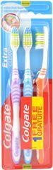 Colgate Zubní kartáček Extra Clean 3 ks DUO