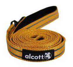 Alcott  Reflexní vodítko pro psy oranžové