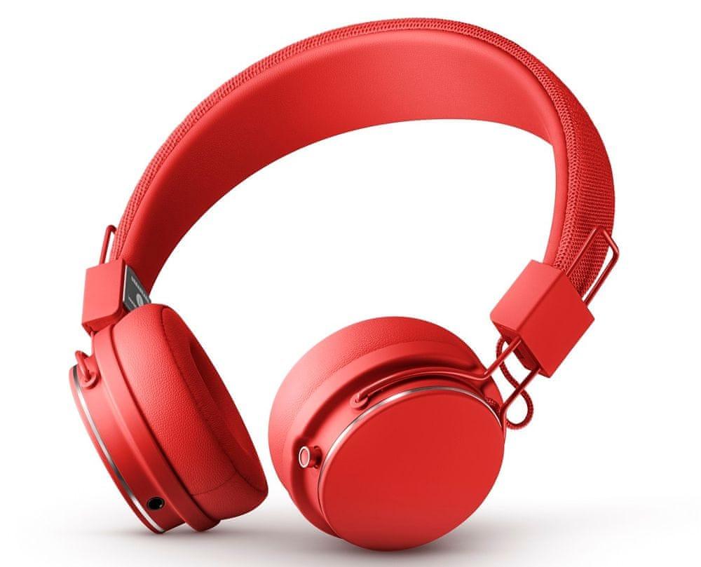 Urbanears Plattan II BT bezdrátová sluchátka, červená