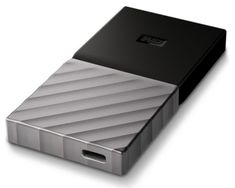 WD zunanji disk My Passport SSD, 256 GB, USB-C 3.1