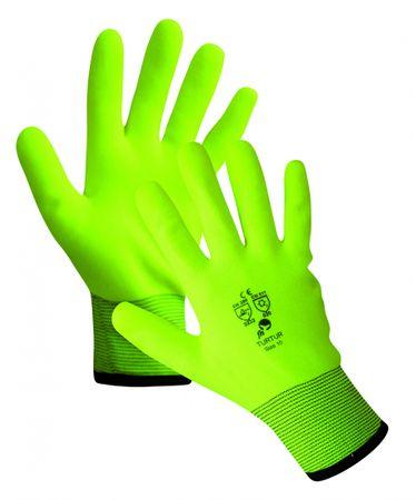 TURTUR rukavice zimní žlutá 11