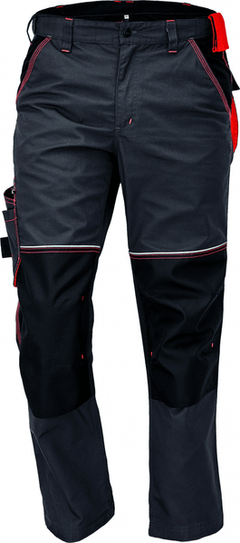 Červa KNOXFIELD kalhoty antracitová/oranžová 62