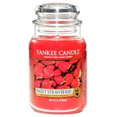 Yankee Candle Classic nagy - Édes eper, 623 g