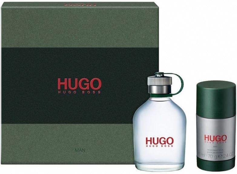 Hugo Boss Hugo - EDT 75 ml + tuhý deodorant 75 ml