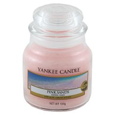 Yankee Candle dišeča sveča Classic mala - roza pesek, 104 g