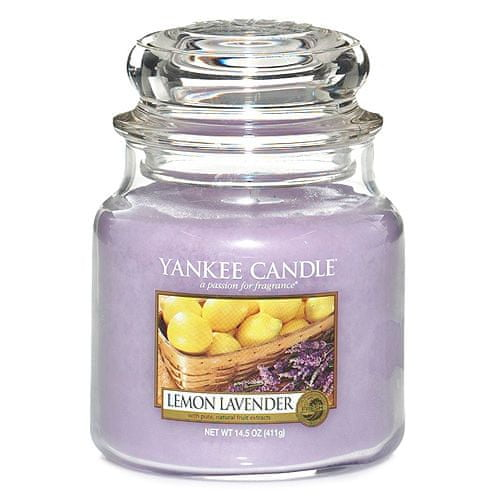 Yankee Candle Citron a levandule, 410 g