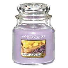 Yankee Candle dišeča sveča - citrusi in sivka, 410 g