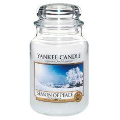 Yankee Candle Classic velký - Období míru, 623 g