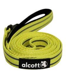Alcott Reflexní vodítko pro psy, žluté