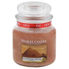 Yankee Candle Classic stredný - Egyptské pižmo, 410 g