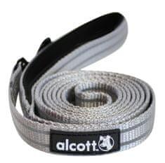 Alcott Reflexní vodítko pro psy, šedé vel. M