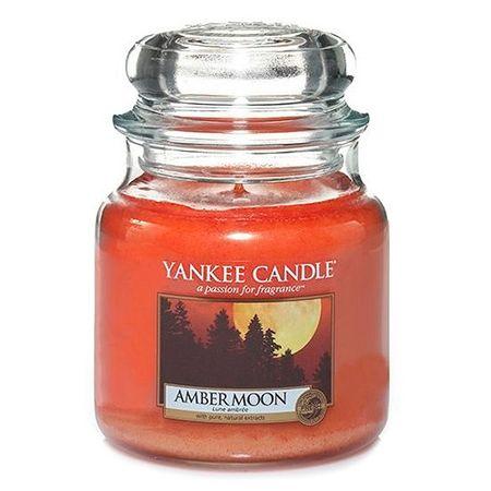 Yankee Candle Classic közepes - Borostyán hold