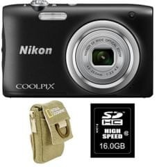Nikon fotoaparat COOLPIX A100 + SD 16GB + torbica