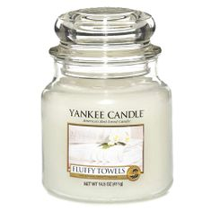 Yankee Candle Classic malý - Našuchorené uteráky, 410 g