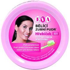 Eva Cosmetics Eva bieliaca zubná púder (klinček) 3v1 30 g