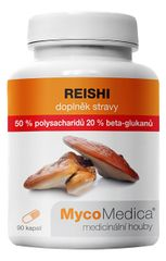 MycoMedica Reishi 50 % vysoká koncentrace