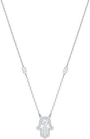 Swarovski Elegantný náhrdelník s Fatimin rukou Luckily HAMSA 5429731