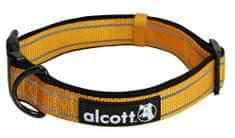 Alcott Reflexní obojek pro psy oranžový vel. L