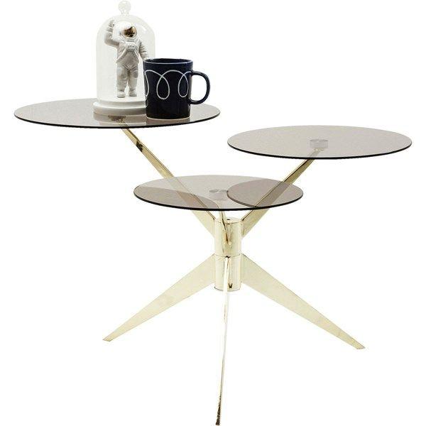 KARE Konferenční stolek Bonsai Tre Brass