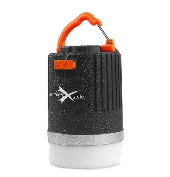 EXTREME STYLE Kempingová lampa Power Box s nabíjecí funkcí pro mobilní zařízení