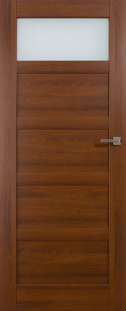 VASCO DOORS Interiérové dveře BRAGA kombinované, model 2, Dub sonoma, D