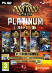 Excalibur Games Euro Truck Simulator 2 Platinum Collection (PC)