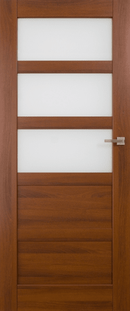 VASCO DOORS Interiérové dveře BRAGA kombinované, model 4, Bílá, D