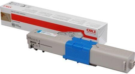 OKI toner 44973535, azurová (44973535)