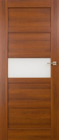 VASCO DOORS Interiérové dveře BRAGA kombinované, model A, Dub sonoma, D