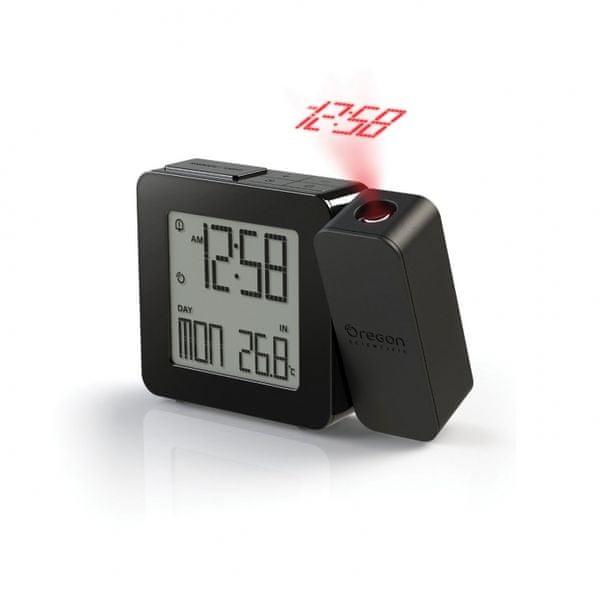 Oregon Scientific Digitální budík s projekcí času RM338PX black PROJI