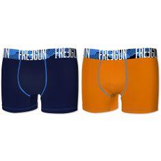 Freegun deške boksarice, 2kos, modra+oranžna