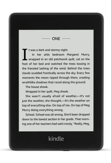 Amazon czytnik Kindle Paperwhite 4 - WERSJA SPONSOROWANA