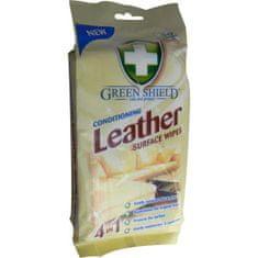 Greenshield úklidové ubrousky na kůži, 50 ks